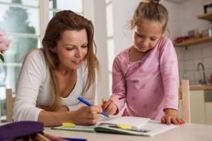 子供に勉強を教える